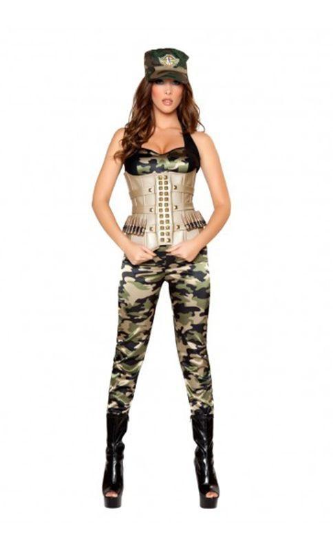 Костюм чувственного солдата (48-50) леггинсы для девушек