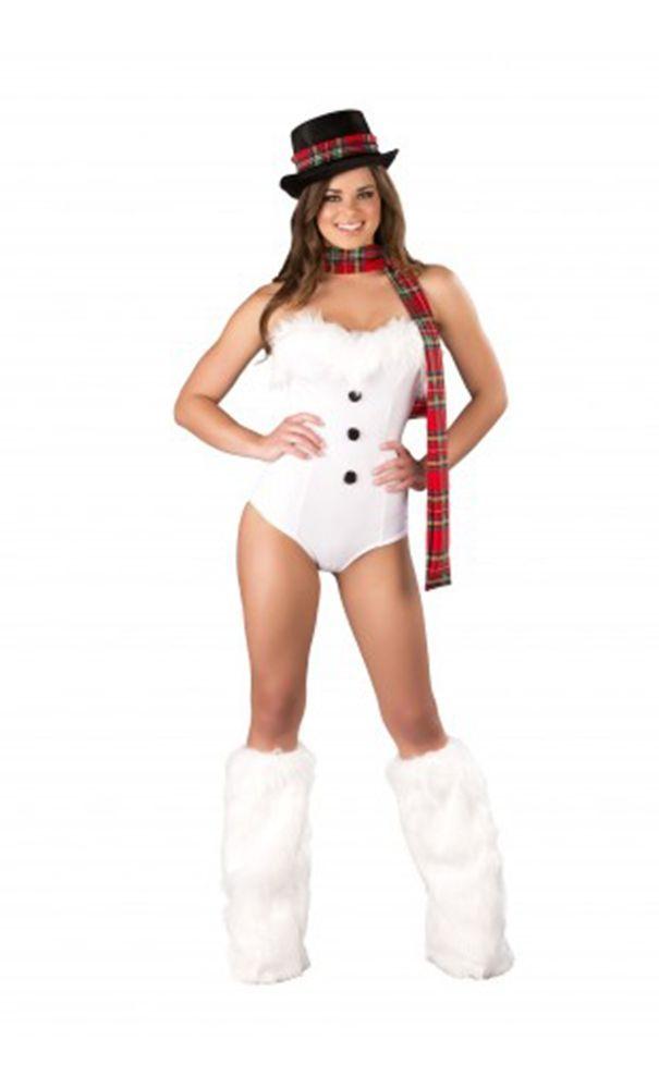 Комбинезон снеговичка (46) - Новогодние костюмы, р.46