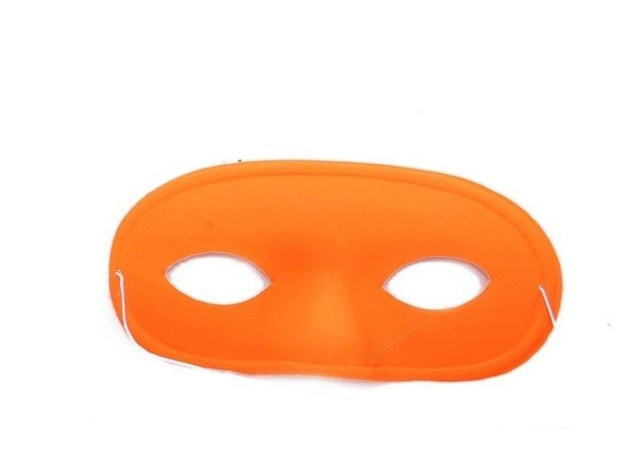 Маска с выпуклым носом оранжевая (UNI) маска в форме бабочки оранжевая uni