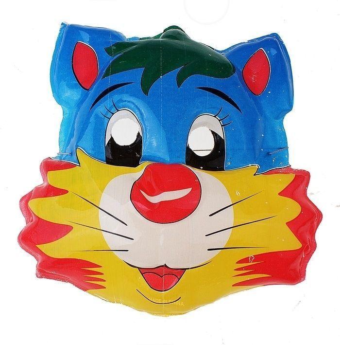 Карнавальная маска кота (UNI) плащ и маска штурмовик uni