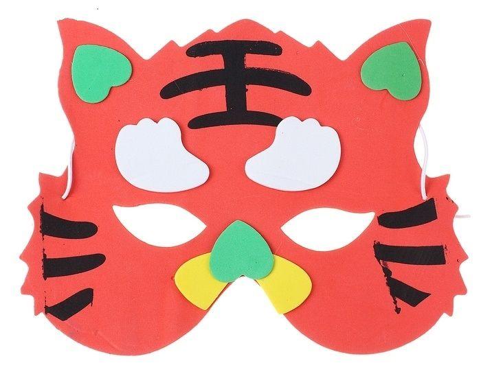 Маска тигренка от Vkostume