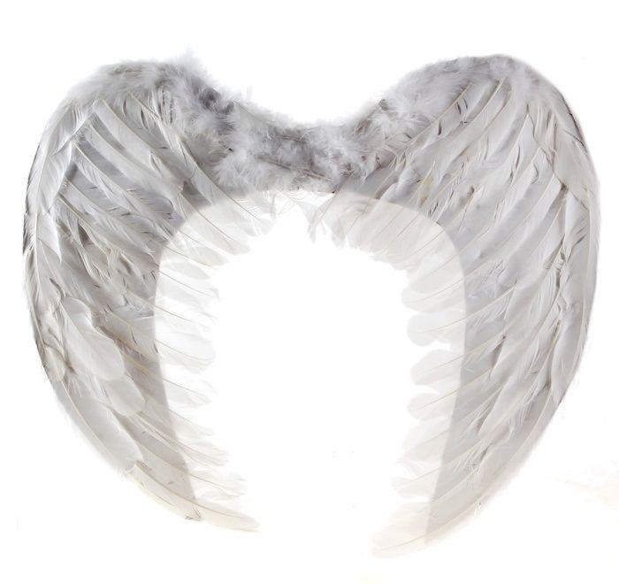 Крылья ангела из перьев от Vkostume