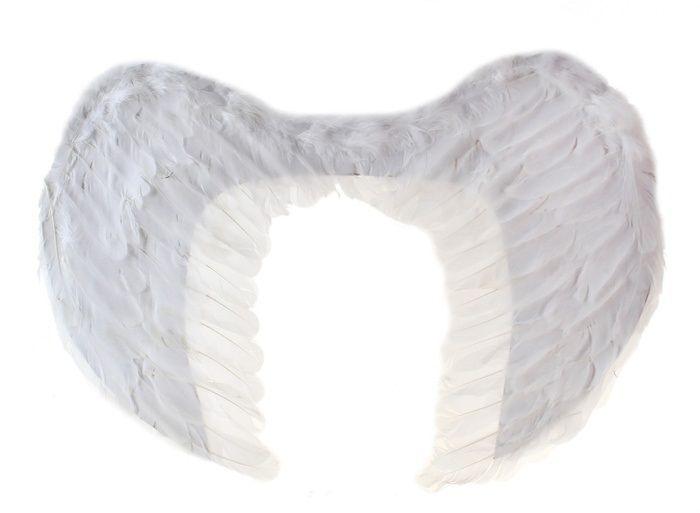 Крылья белого ангела от Vkostume