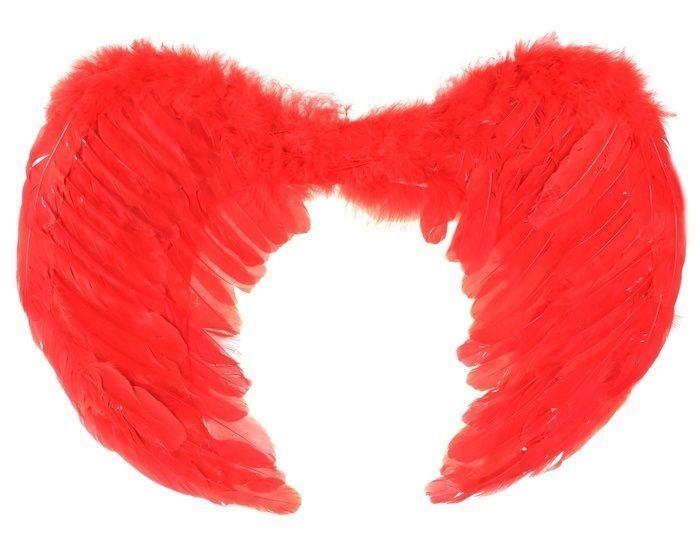Крылья ангелочка красные от Vkostume