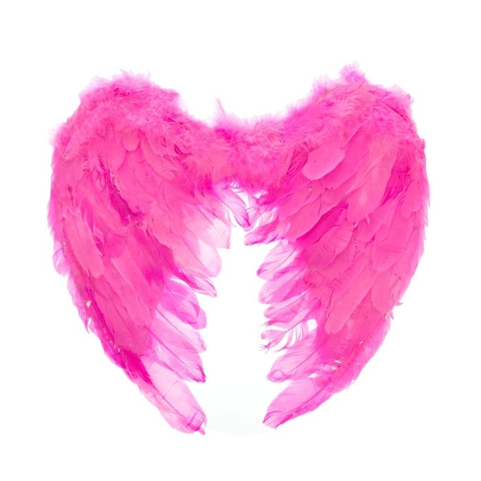 Крылья ангела розовые (UNI) - Крылья
