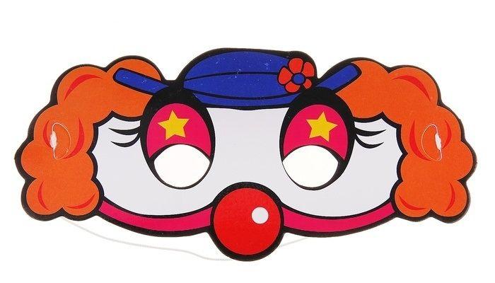 Сима-ленд Детская фуражка клоуна