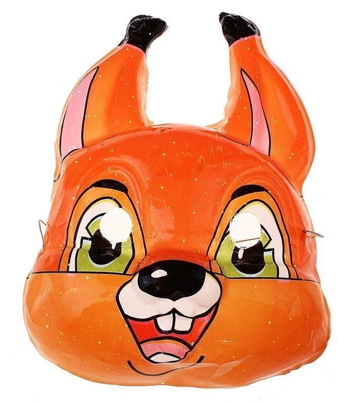 Карнавальная маска белочки от Vkostume