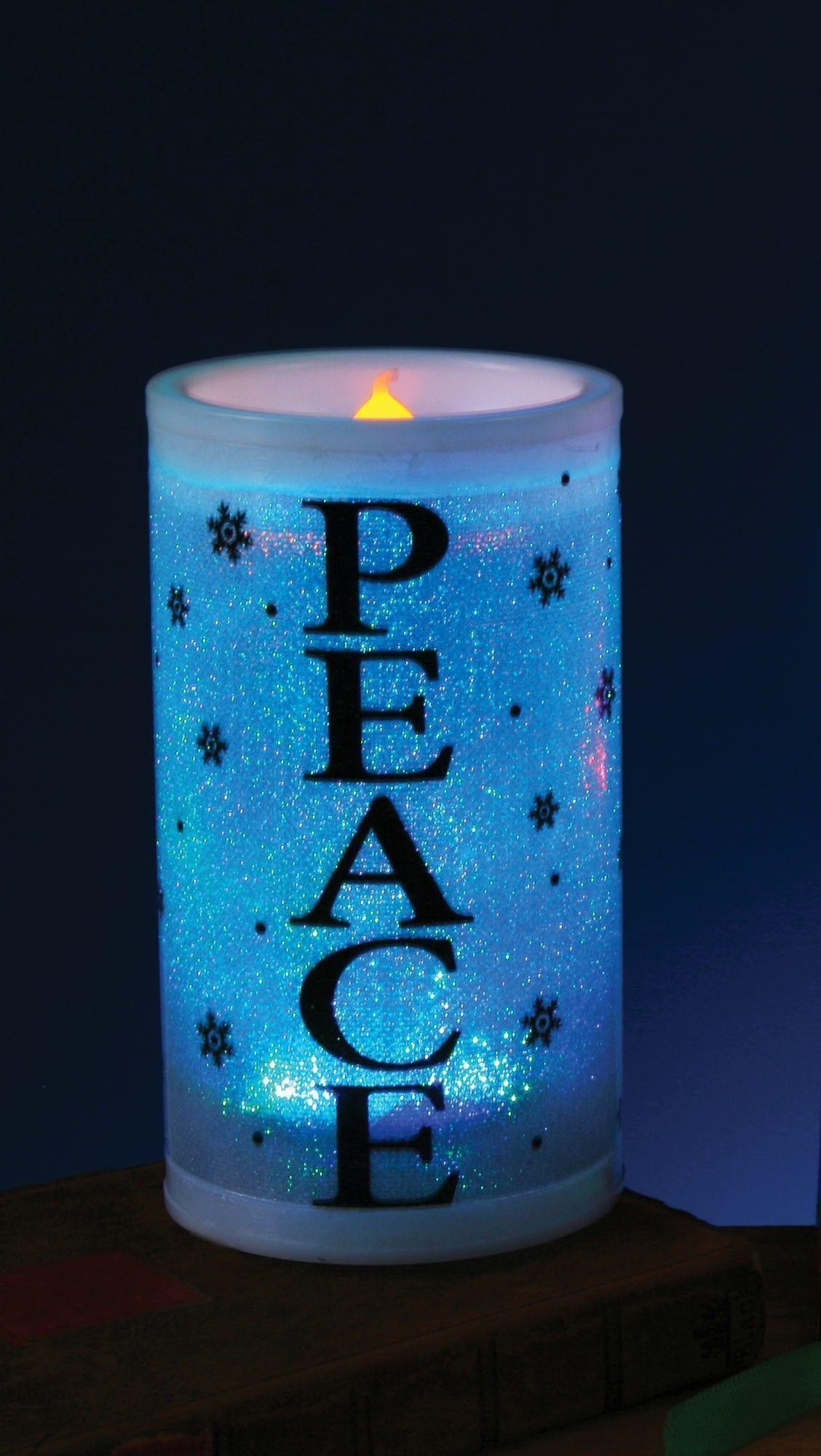 Декоративная свеча Peace (UNI)