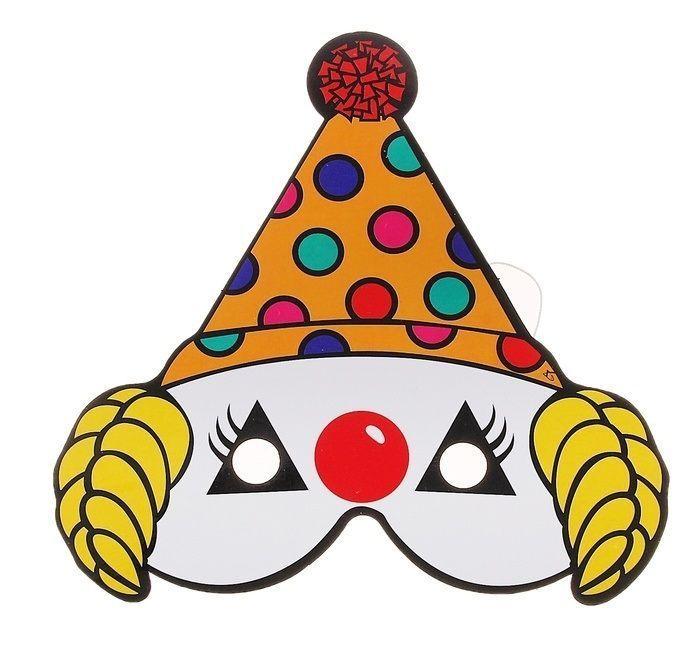 Маска клоуна-фокусника (UNI) плащ и маска черепашка ниндзя uni