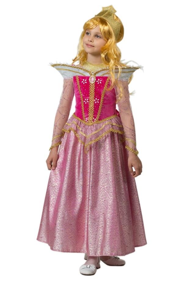 Детский костюм Авроры (34) детский костюм фиолетовой феи виндс 34