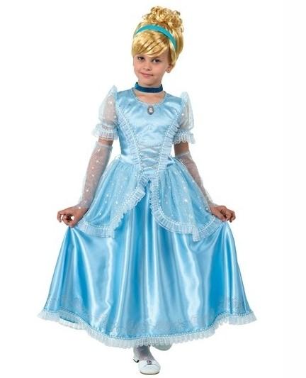 Классический детский костюм Золушки (28) детский костюм малышки золушки 24