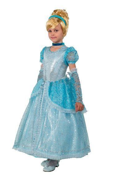Костюм принцессы Золушки (34) детский костюм озорного клоуна 34