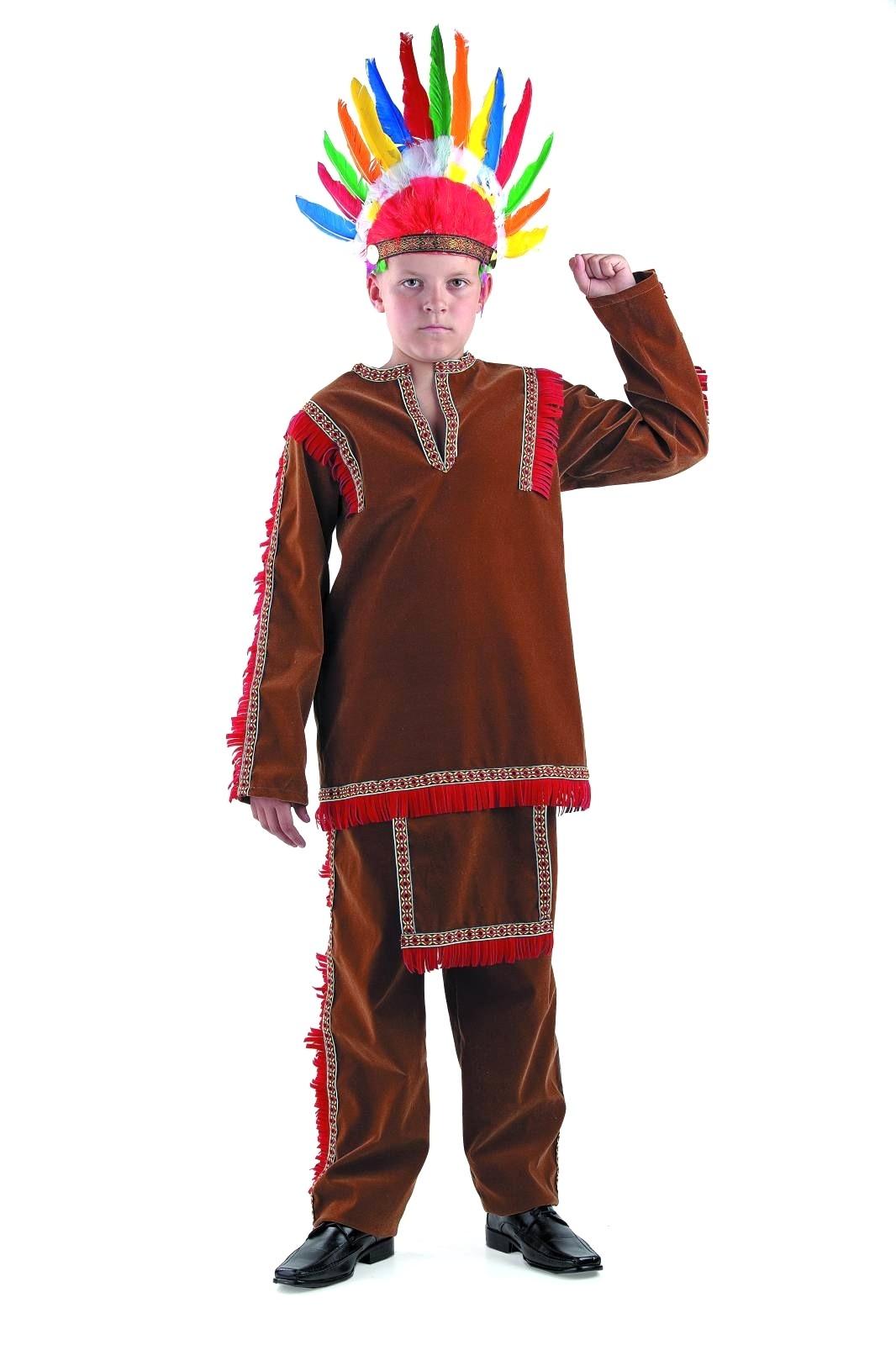Костюм индейца детский (36)