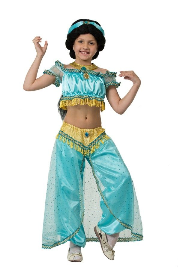 цены на Детский костюм принцессы Жасмин (28) в интернет-магазинах