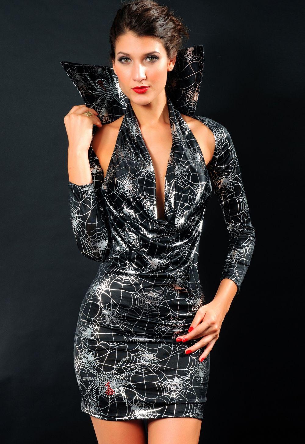 Мини-платье ведьмы (40-44) комплект платье болеро stf комплект платье болеро