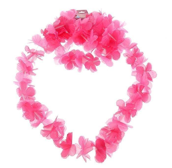 Розовый гавайский набор - Национальные костюмы