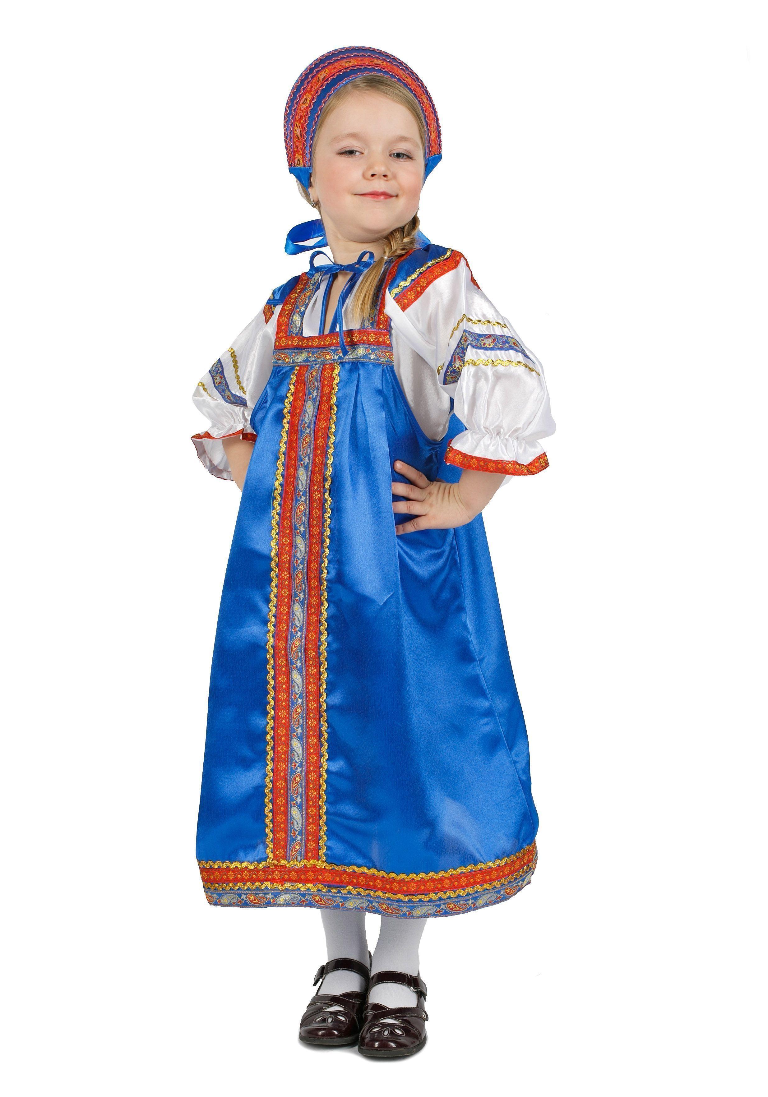 Атласный синий костюм Василиса (32)