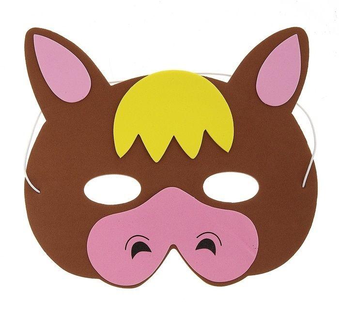 Маска бычка (UNI) плащ и маска штурмовик uni