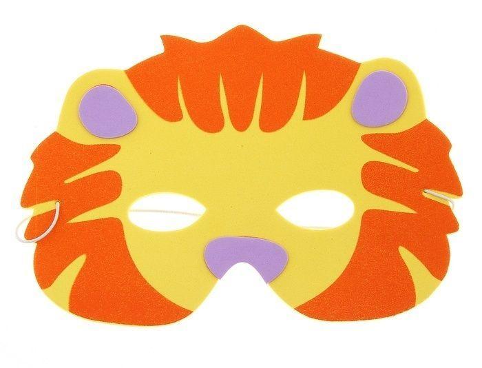 Карнавальная маска львенка от Vkostume
