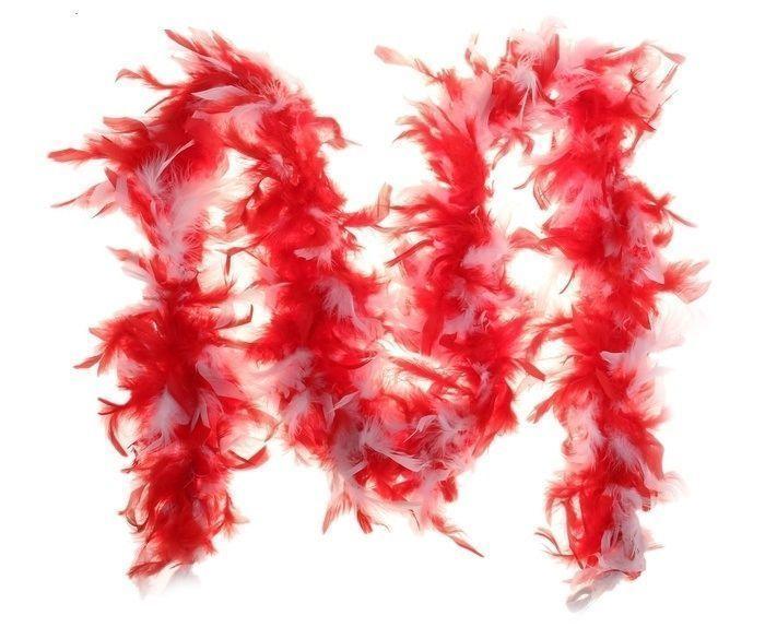 купить Боа красно-белое (UNI) недорого