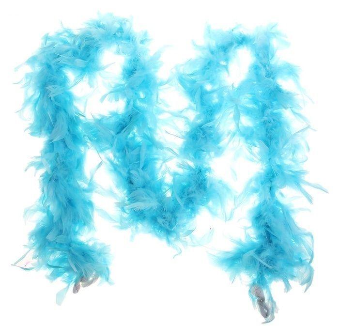 купить Боа карнавальное голубое (UNI) недорого