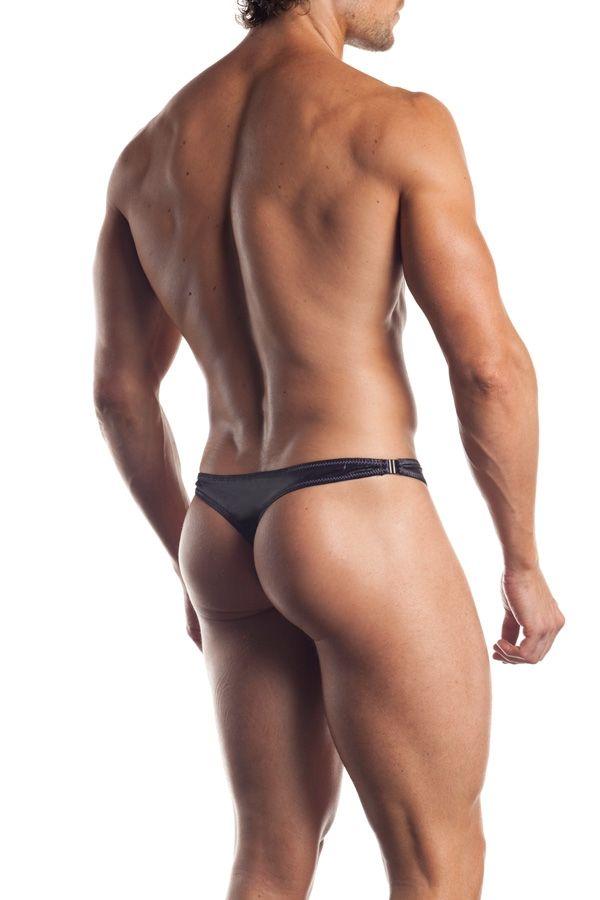 Мужские стринги с яркими полосками (48-52) -  Мужское белье