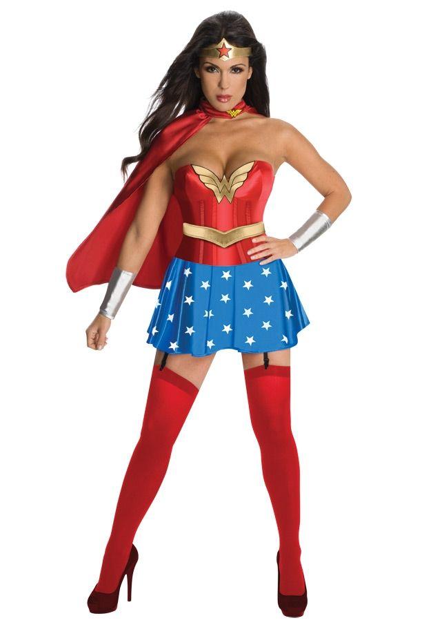 Корсетный костюм Чудо-женщины (42)
