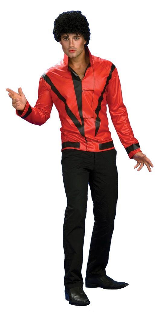 Пиджак Майкла Джексона красный (50-52) -  Знаменитости