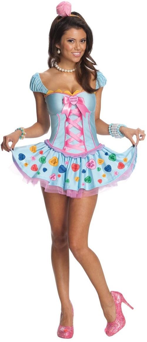Костюм Сладкое сердце (46-48) костюм радужной клоунессы 46 48