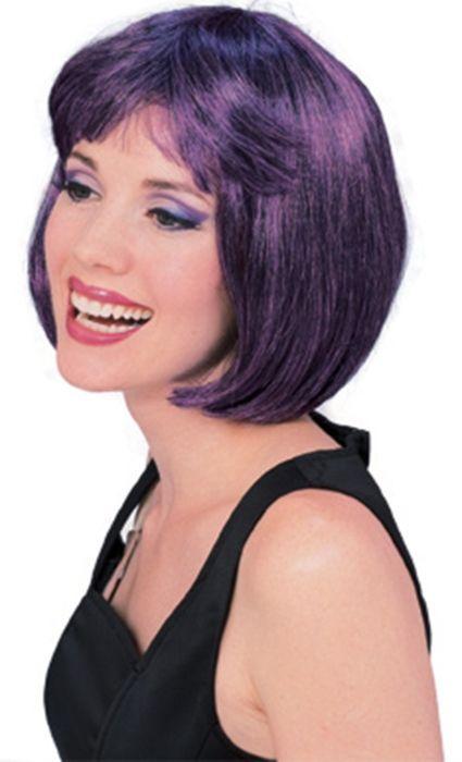 Фиолетово-черный парик модели от Vkostume