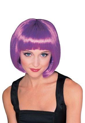 Пурпурный парик супер-модели парик для волос