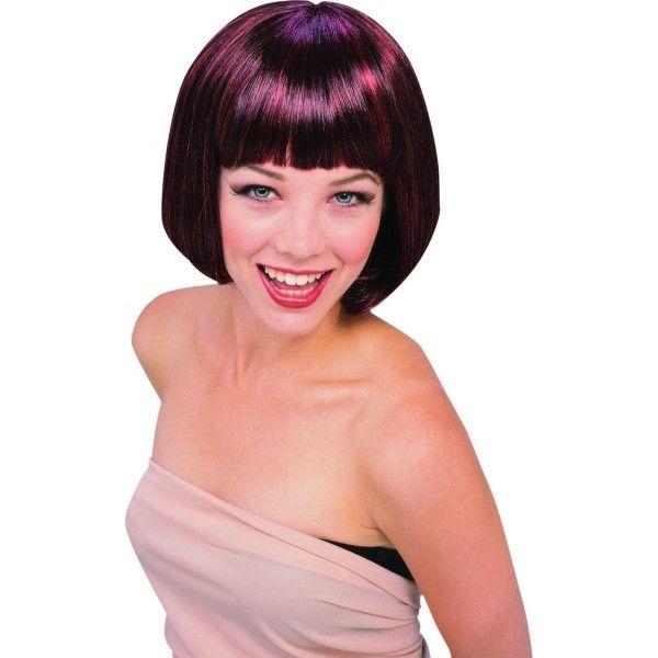 Блестящий парик супер-модели парик для волос