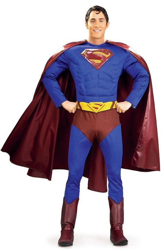 Классический костюм Супермена Deluxe (46) от Vkostume