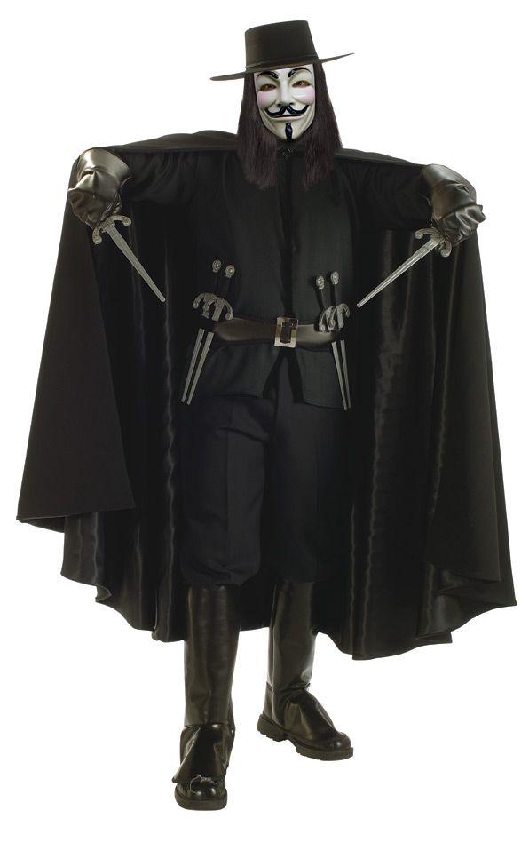 Костюм Вендетты V For Vendetta (44-46) арон раймонд