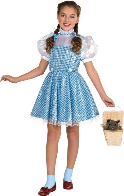 Детский костюм Дороти с блестками (30)