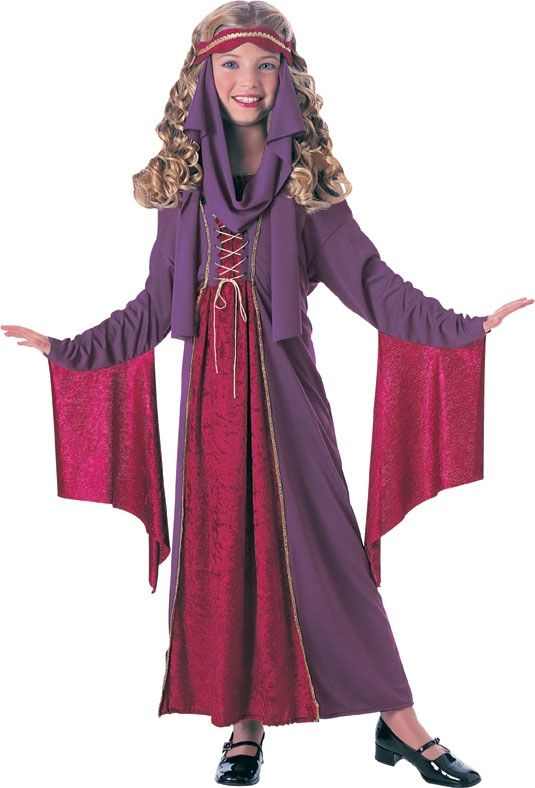 Детский костюм эпохи ренессанс (36-38) детский костюм фиолетовой феи виндс 34