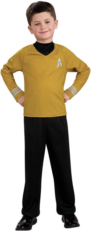 Детский костюм Капитана Кирка Star Trek (32-34) детский костюм джульетты 32 34