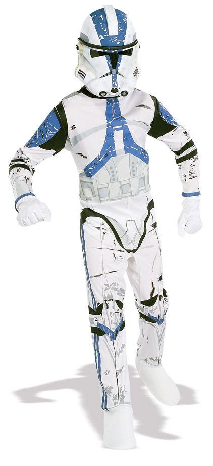 Детский костюм клона-дроида (36-38) детский костюм клоуна весельчака 38