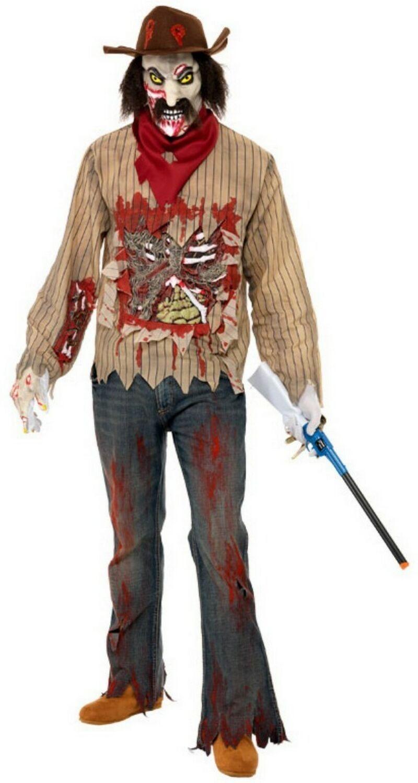 Костюм ковбоя зомби (48-50)
