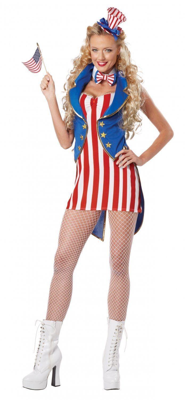 Костюм Мисс Независимость Америки (46-48)