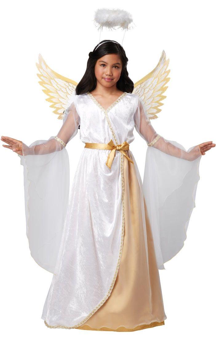 Купить со скидкой Детский костюм Рождественского ангела (30)