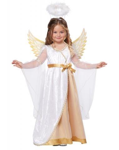Детский костюм Рождественского ангела (L(от 4 до 6)) от Vkostume