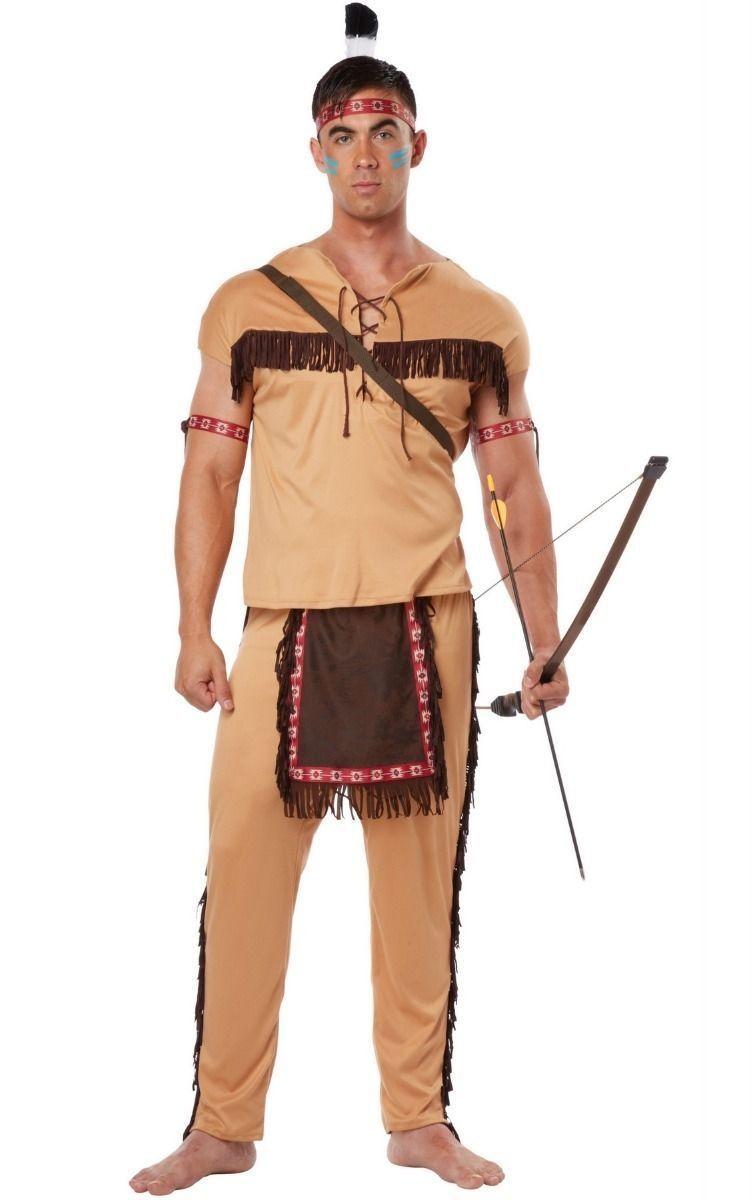 Костюм для мужчин Храбрый индеец (52) от Vkostume