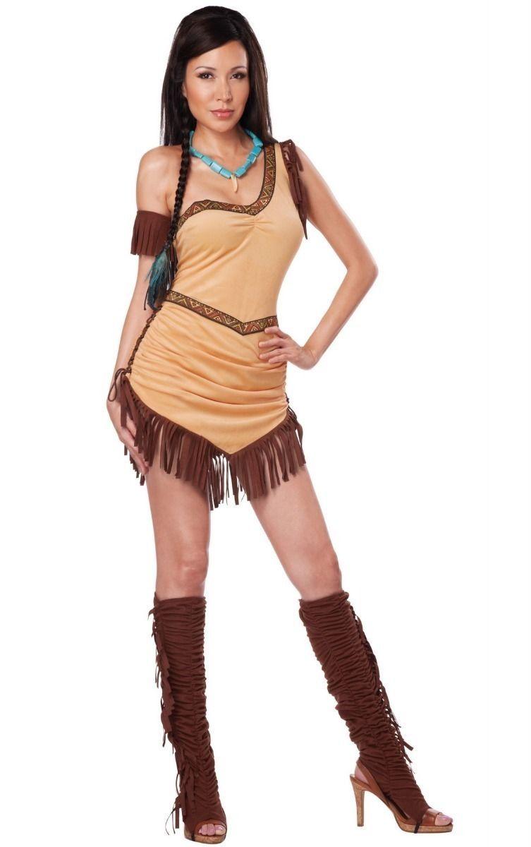 Костюм индейской красотки (44) клетчатый костюм красотки 48