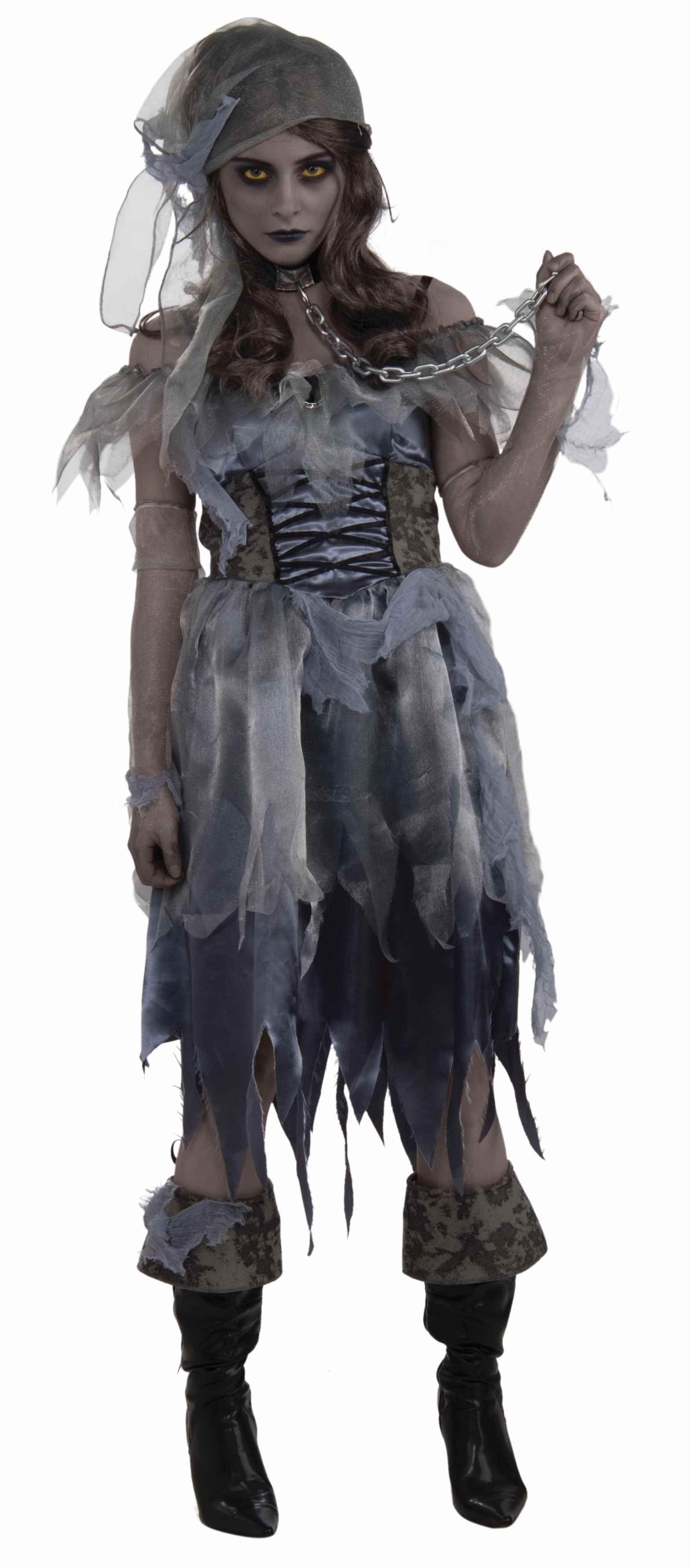 цены Костюм зомби-девушки пиратки (46-48)