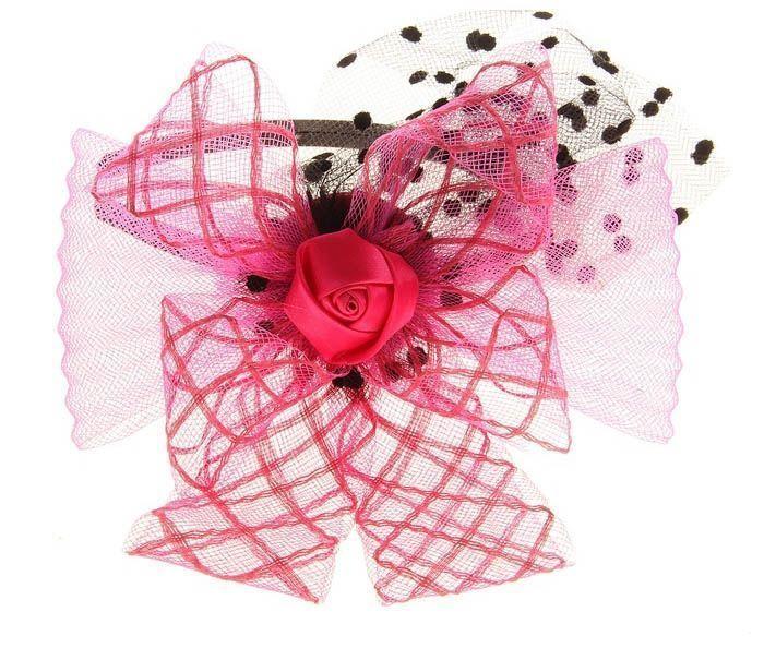 Розовый карнавальный ободок от Vkostume
