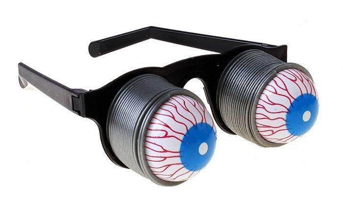 Очки на пружинах (UNI) - Очки