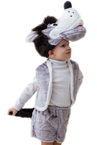 цена Детский костюм Серого волчонка (32-34) онлайн в 2017 году