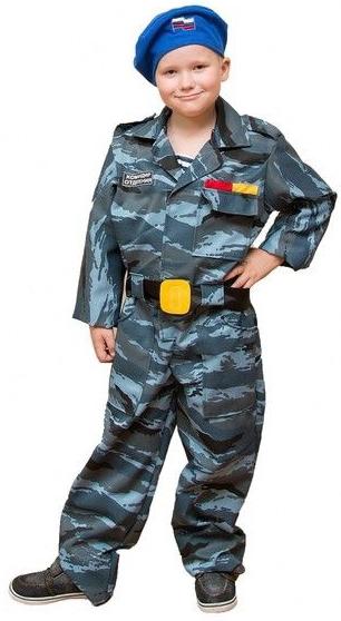 Детский костюм Десантника (32-34) детский костюм джульетты 32 34