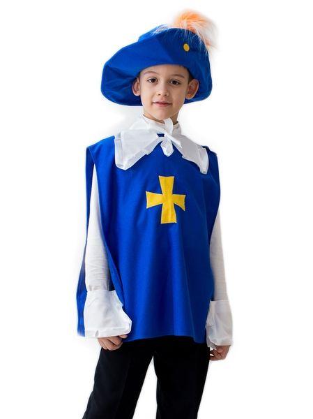 Синий костюм Мушкетера (34) - Исторические костюмы, р.34